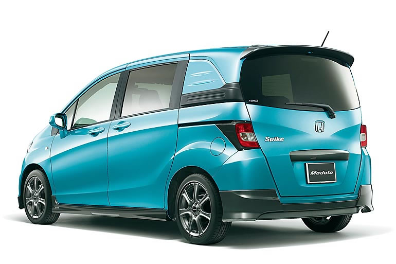 Honda Freed Spike Hybrid Компактвэн - rusavtoplusru